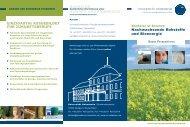 Nachwachsende Rohstoffe und Bioenergie BACHELOR NAWARO ...