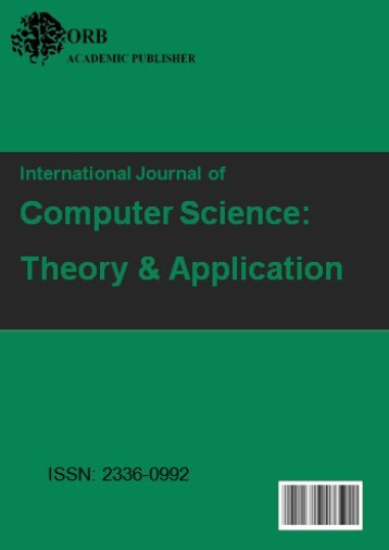 International Journal of Computer Science: Theory and Application