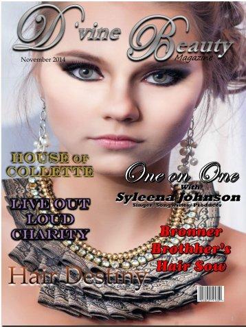 D'vine Beauty Magazine