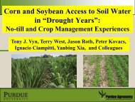 "Corn and Soybean Access to Soil Water in ""Drought Years"":"
