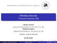 Wireless Security - IT Security Workshop 2006 - SarWiki