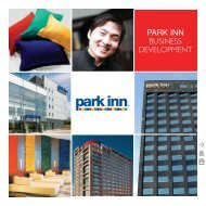 PARK INN Business Development - Carlson