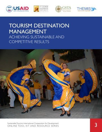 Tourism Destination Management - usaid