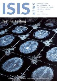 Testing, testing - Isis Innovation