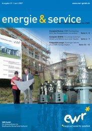 Unsere EWR-Services für Sie … auch unter - EWR GmbH