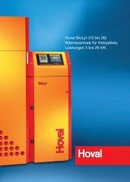 Hoval BioLyt - Erich Otto Reutter Heizungsbau GmbH