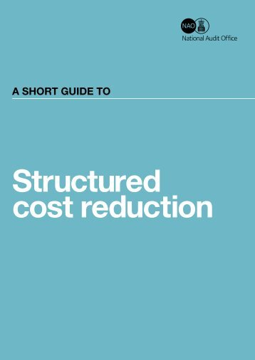 National Audit Office - a structured approach to cost ... - Steria