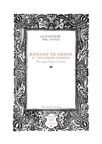 Romano Guardini e i movimenti mo - Il Covile