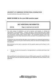 Additional Mathematics-MS-P2-M J-07 pdf - Ourpgs com