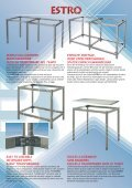 Telai per tavoli in acciaio inox - Page 3