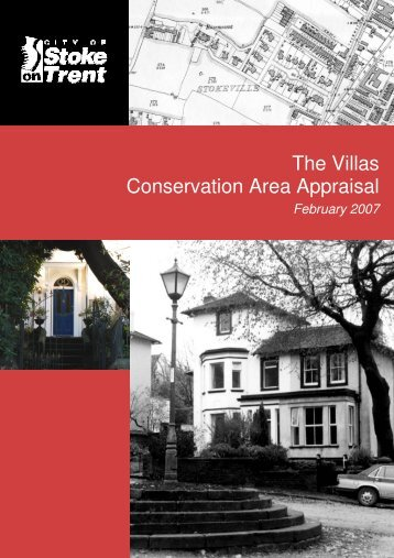 The Villas Conservation Area Appraisal The Villas Conservation ...