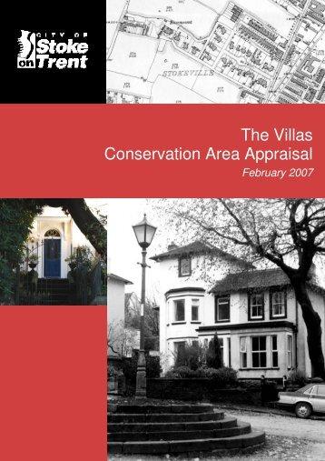 The Villas Conservation Area Appraisal The Villas Conservation ...