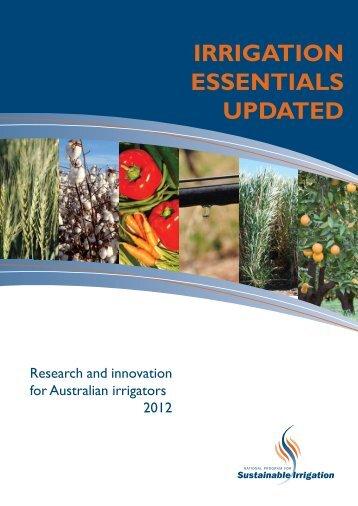 Irrigation Essentials Updated.pdf - Land and Water Australia