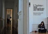 Programme - Ecole Nationale Supérieure d'Architecture de Paris La ...