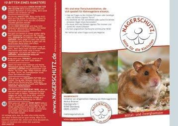 Hamster - Nagerschutz