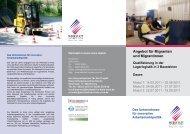 Angebot für Migranten und Migrantinnen - Werkstatt im Kreis Unna