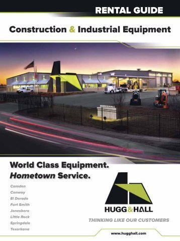 Construction & Industrial Equipment RENTAL GUIDE