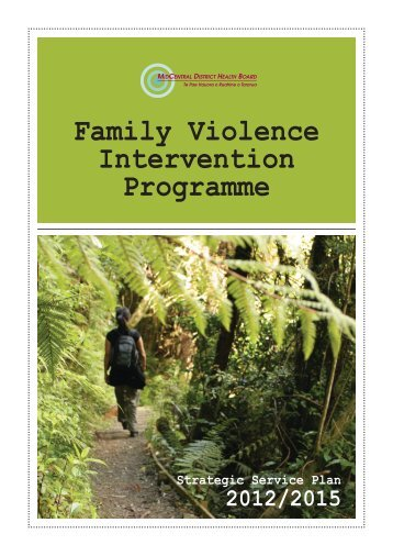 Family Violence Intervention Programme - MidCentral District Health ...