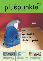 pluspunkte 2009 Nr. 2 - Familien-Wirtschaftsring eV