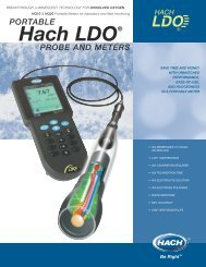 Hach LDO® PROBE AND METERS