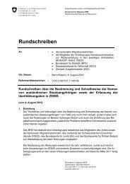 Rundschreiben - Verband Schweizerischer Einwohnerdienste