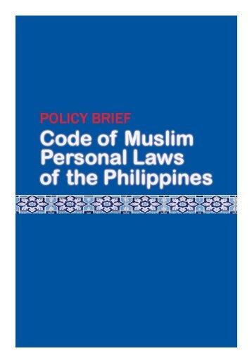 to view PDF file - Muslim Mindanao Website