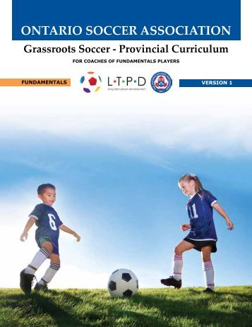 Physical Literacy - Provincial Curriculum - FUNDAMENTALS