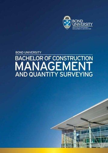 MANAGEMENT - Bond University
