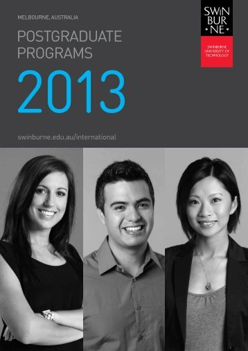 pg-course-guide-inte.. - International Students - Swinburne ...