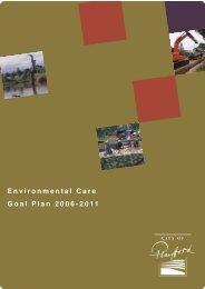 Environmental Care Goal Plan 2006-2011 - City of Playford - SA ...