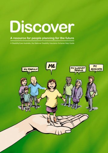 Discover Book - Endeavour Foundation