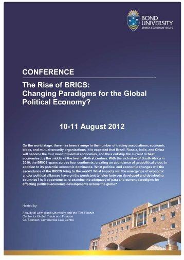 10-11 August 2012 - Bond University
