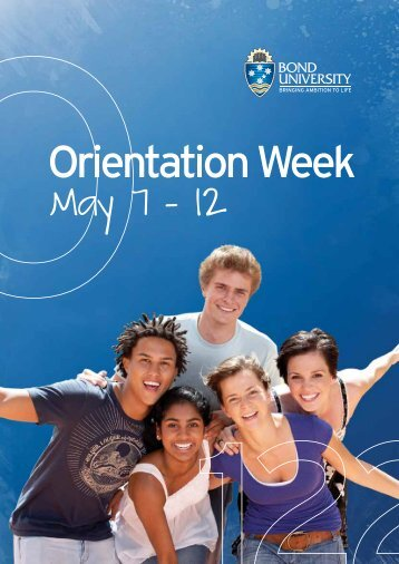 Orientation Program - Bond University