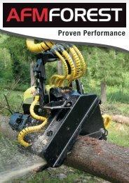 Харвестерные и процессорные головки AFM - AFM-Forest Ltd