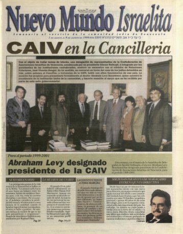 '* Abraham Levy desrgnado - Saber UCAB