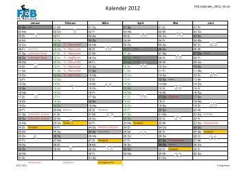 Kalender 2012 1 2 3 4 6 7 8 9 10 11 12 13 14 15 16 19 ... - FC Bellach