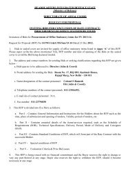 TENDER ENQUIRY-Procurement of Office Stationery items for FY ...