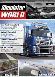Simulator World Magazine – Issue #2 - James Woodcock