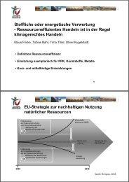 Stoffliche oder energetische Verwertung ... - GGSC Seminare