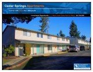 Cedar Springs Apartments