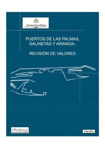 valoración puerto 2012 - Puertos de Las Palmas