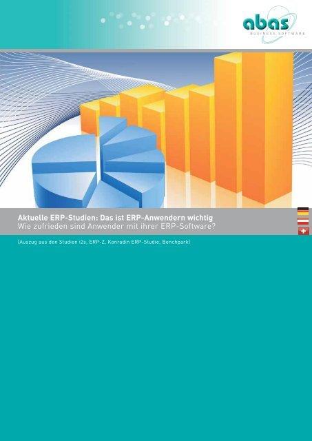 Aktuelle ERP-Studien 2010/2011 - ABAS Software AG