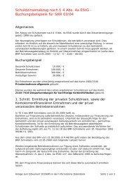 Schuldzinsenabzug nach § 4 Abs. 4a EStG - Buchungsbeispiele für ...