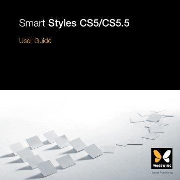 Smart Styles CS5/CS5.5 - WoodWing.com