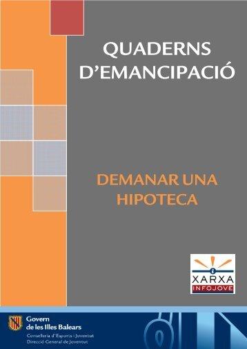 QUADERNS D'EMANCIPACIÓ - Infojove - Govern de les Illes Balears