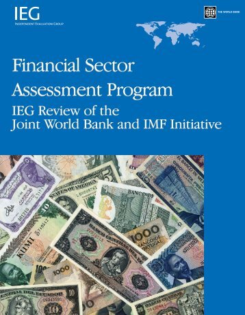 (FSAP): IEG Review of the Joint World Bank and IMF Initiative
