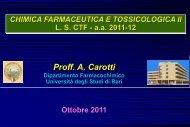 Introduzione al corso - Università degli Studi di Bari