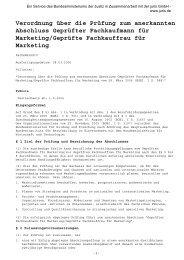 Geprüfte/r Fachkaufmann/frau für Marketing - VDV-Karriere