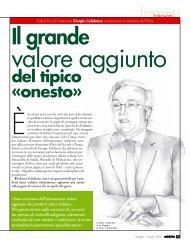 Giorgio Calabrese Il grande valore aggiunto del tipico Â«onesto
