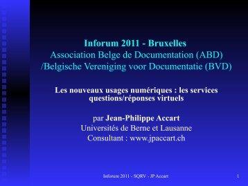 Les services Questions/Réponses virtuels - ABD-BVD